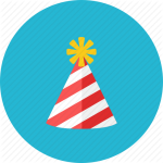 party hat graphic